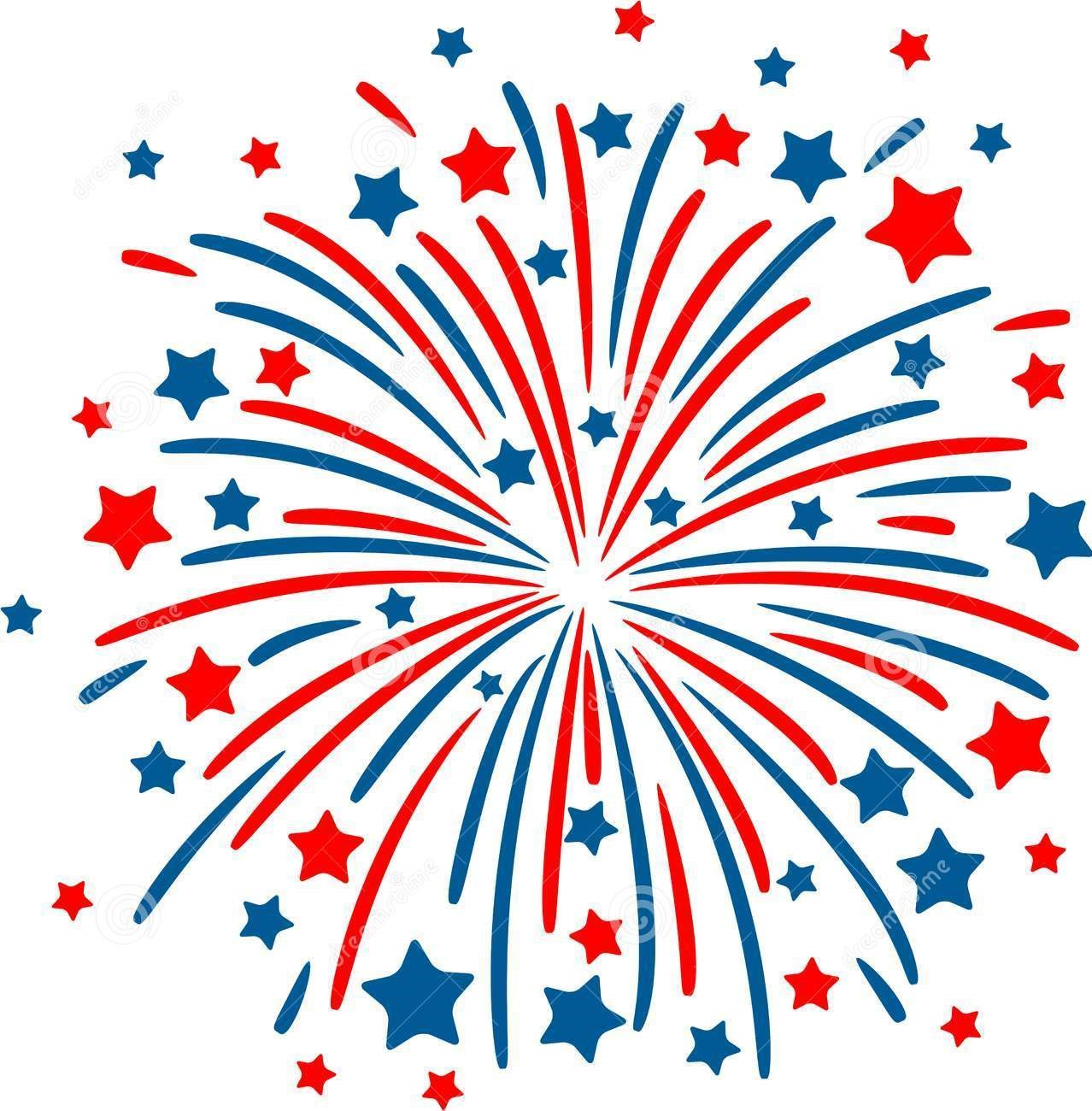 St. Catherine Labouré Fourth of July Planning Meeting Fireworks Icons Free
